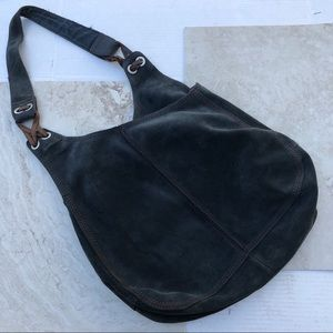 Lucky Brand Black Suede